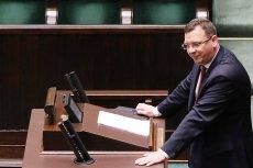 Wiceminister sprawiedliwości zaliczył spektakularnie zabawną wpadkę, gdy mówił o popularyzacji dozoru elektronicznego.