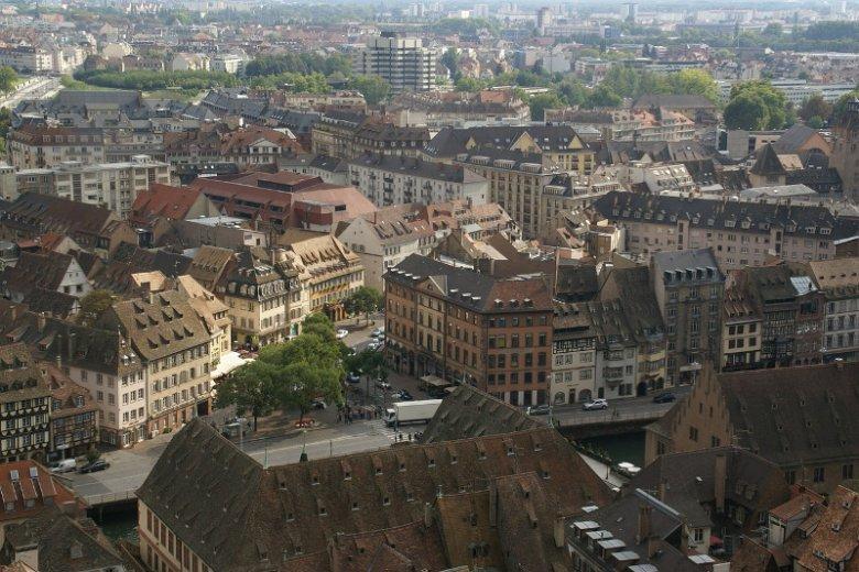 Strasburg ma nie tylko świetne rozwiązania komunikacyjne, ale i jest malowniczy.