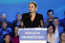 Koalicja Europejska bez Barbary Nowackiej.