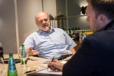 Peter Hortensius – wiceprezes Lenovo podczas wywiadu z Tomaszem Machałą
