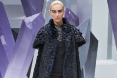 Anja Rubik na pokazie Chanel PAP AW 2012