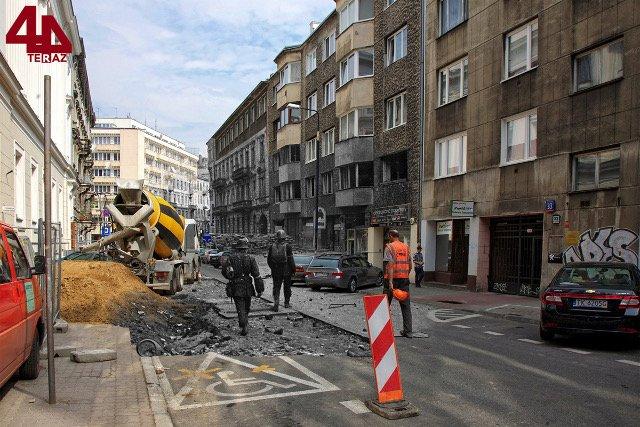 Ulica Koszykowa.