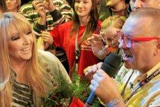 Jurek Owsiak zaprasza MarylęRodowicz na Woodstock.
