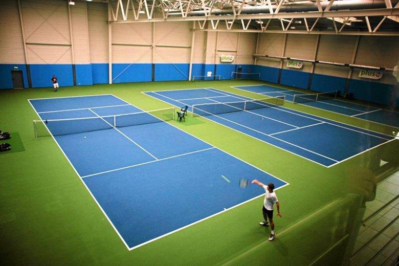 Nowoczesne korty tenisowe w Łodzi