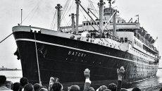 Statek Batory, zdjęcie archiwalne