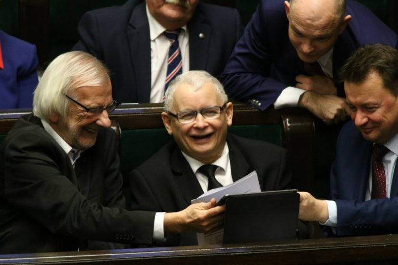Partia Jarosława Kaczyńskiego bije kolejne rekordy w sondażach. W badaniu Pollster osiągnęła rekordowy wynik 47 proc.