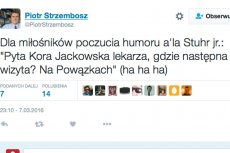 Prawicowy polityk oburzył część internautów swoim wpisem.