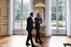 Donald Tusk przyjechał na rozmowy z prezydentem Francji pociagiem.