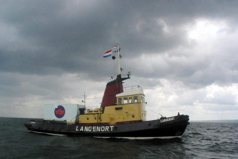 """W 2003 roku statek organizacji """"Kobiety na Falach"""", Langenort, przypłynął do Polski"""