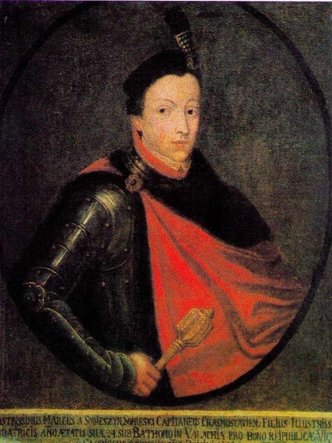 Marek Sobieski - brat późniejszego króla Polski, jedna z ofiar rzezi pod Batohem.