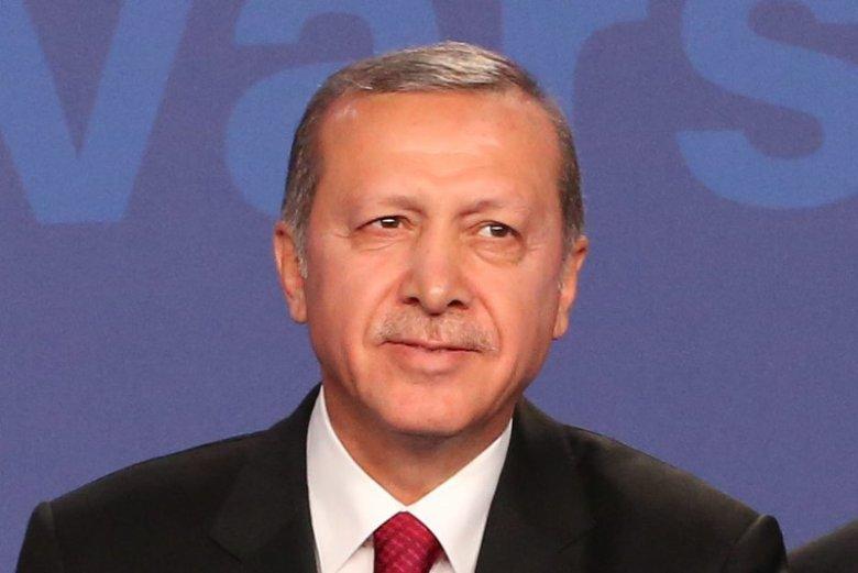 Erdogan wielokrotnie bywał w Polsce. Tu na ostatnim szczycie NATO.