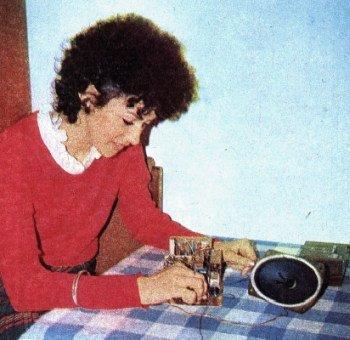 W latach 70-tych zapanowała moda na budowanie własnych odbiorników.