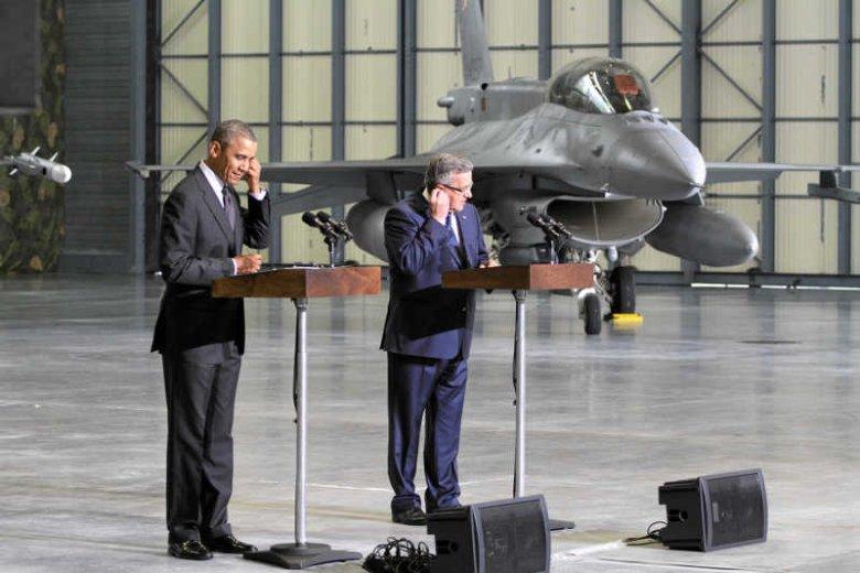 Rząd zapomniał o racie za F-16.