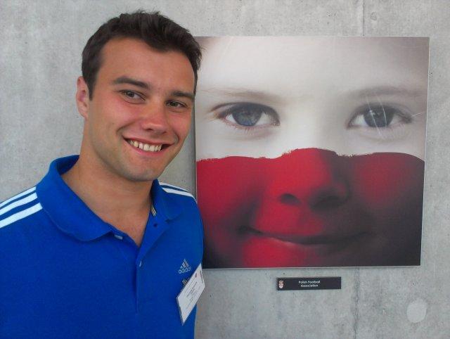 Piotr Binczyk podczas udziału w kursie CORE