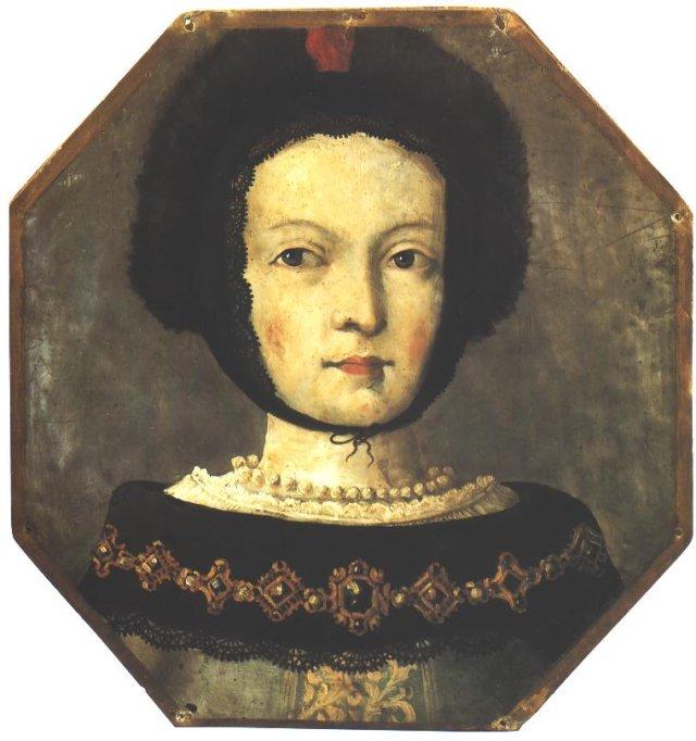 Potrtet trumieny kobiety z okolic Dolska, ok 1675, Muzeum Narodowe w Poznaniu