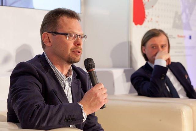 Marcin Szumowski - Medicalgorithmics SA i Mariusz Frankowski Dyrektor MJWPU