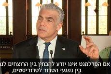 Ya'ir Lapid powiedział, że Polacy zabili bez udziału Niemców 200 tys. Żydów podczas II wojny światowej.