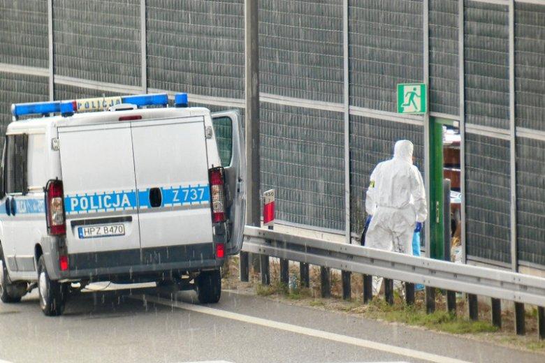 Ciało dziecka funkcjonariusze znaleźli przy autostradzie A2.