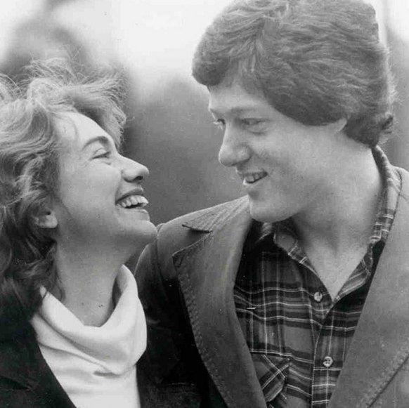 Bill Clinton i Hillary Rodham poznali się na wydziale praca Uniwersytetu Yale