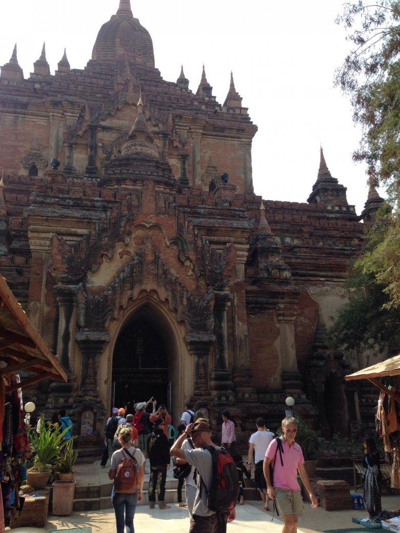 Wejście do świątyni Sulamani. Bagan/Birma