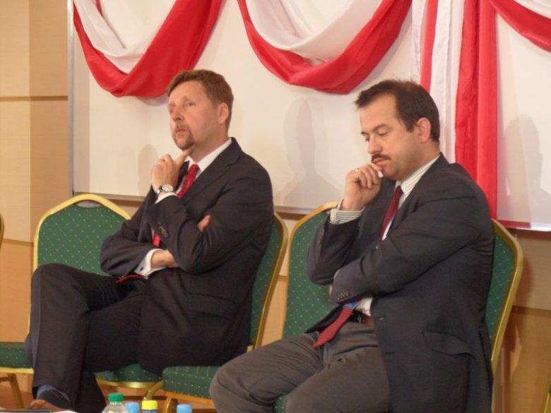 Marek Migalski i Artur Zawisza