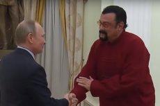 Władimir Putin i Steven Seagal przyjaźnią się. Teraz aktor ma ambitne plany polityczne, które chciałby zrealizować w Rosji.
