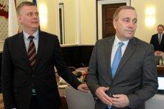 Grzegorz Schetyna uważa, że Tomasz Siemoniak nie ma charakteru lidera