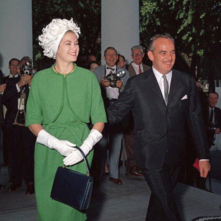 Księżna Grace z księciem Rainierem