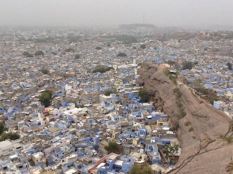 Jodhpur - błękitne miasto w Radżastanie