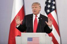 Donald Trump enigmatycznie poinformował o wydarzeniach w Syrii.