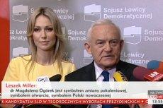 Leszek Miller zapewnił, że Józef Oleksy znał i cenił Magdalenę Ogórek