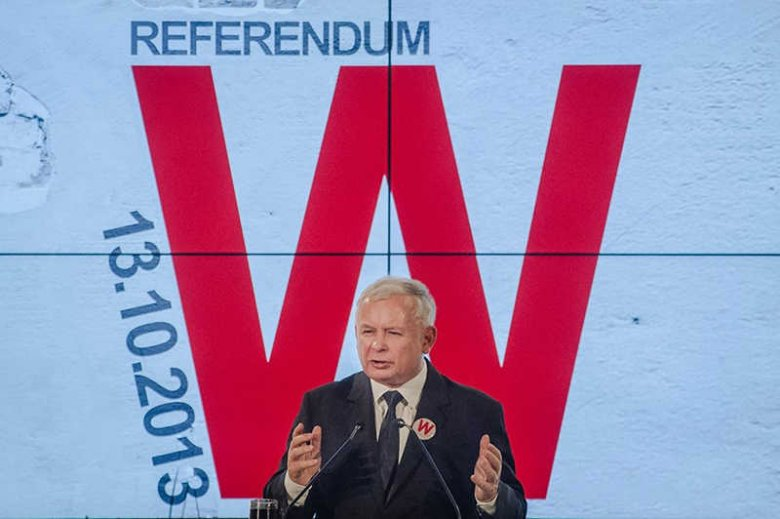 PiS namawia do udziału w referendum, ale tylko wtedy, kiedy jest im to na rękę.