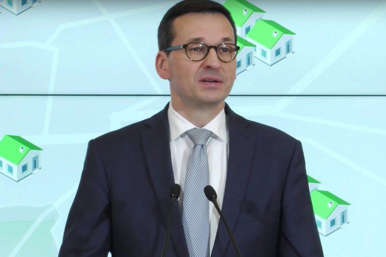 Wpadka podczas konferencji premiera Morawieckiego o walce ze smogiem. Zaprezentowano mapę pełną błędów.