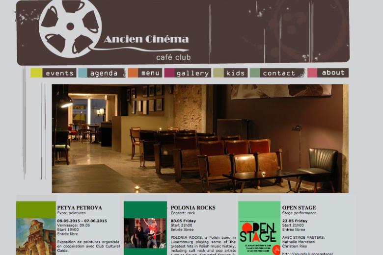 Ancien Cinema – prywatne centrum kulturalne