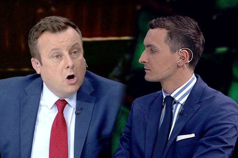 Adrian Klarenbach  TVP zaatakował w studiu warszawskiego radnego Michała Szolca.