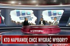 W internetowej telewizji wPolsce.pl pokazano wyniki sondażu.