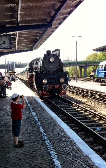 Pociągi prowadzone przez parowozy kursują z Wolsztyna do Poznania regularni. Każdego dnia spalają ponad 3 tony węgla i zużywają 30 metrów sześciennych wody.