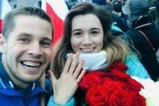 Mateusz Koszela zatrzymał marsz setek tysięcy ludzi o oświadczył się swojej wybrance. Oświadczyny zostały przyjęte.