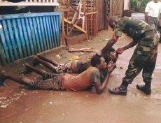 To jedno z mniej drastycznych zdjęć z Nigerii pokazanych przez byłego posła PO. Lud Ibo chce referendum w sprawie niepodległości. Poprzedni zryw pochłonął ponad milion ofiar.