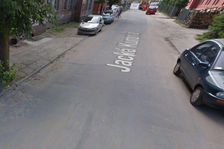 Ulica Jacka Kuronia w Olsztynie.