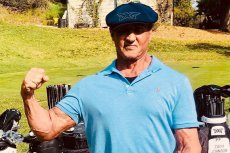 Sylvester Stallone pochwalił się zdjęciem z siłowni.
