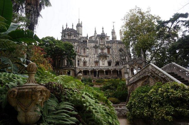Pałac w Quinta da Regaleira.