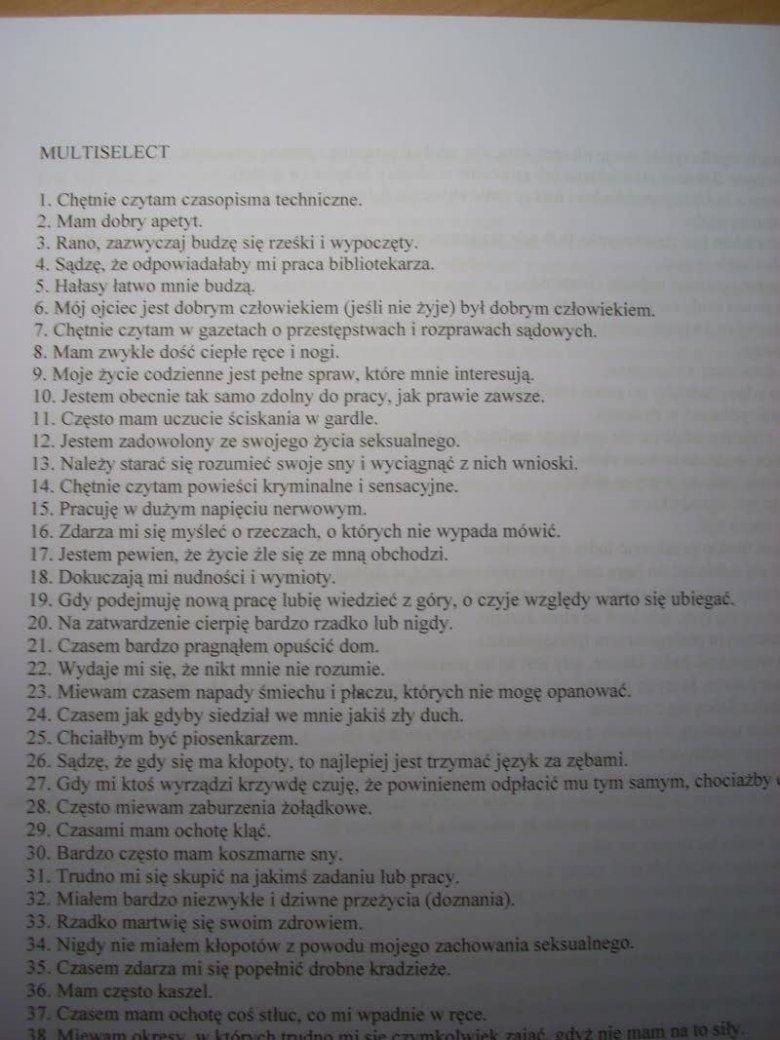 TEST PSYCHOLOGICZNY DO POLICJI PDF DOWNLOAD