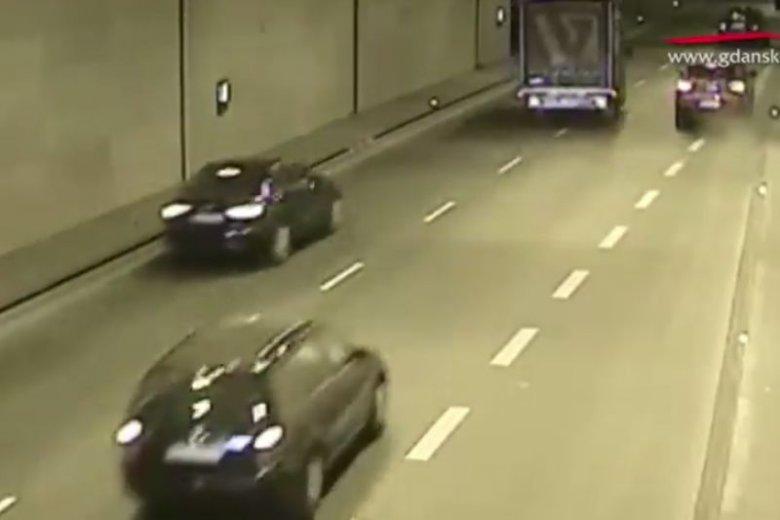 Zatrzymywanie się w tunelu jest bardzo niebezpieczne!