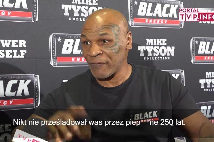 Mike Tyson musi się troszkę podszkolić z historii