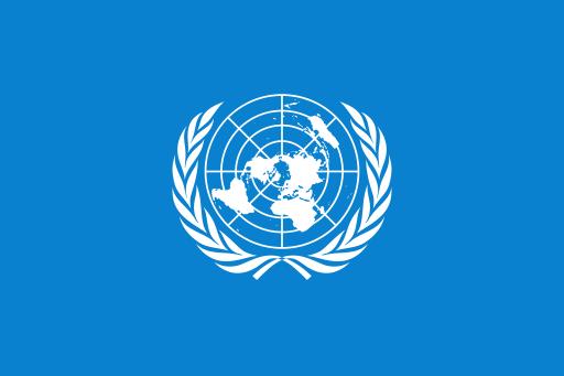 Flaga ONZ przedstawia... płaską Ziemię. Przypadek?
