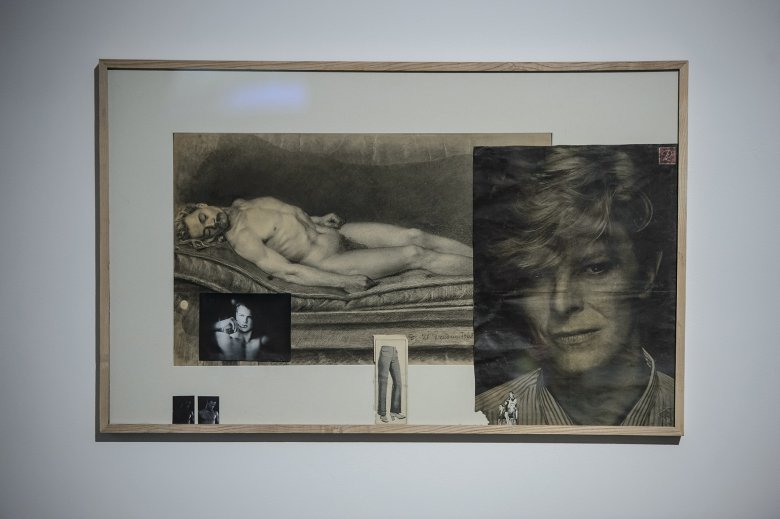 POWSTAŃCY. David Bowie, 1863-2016, collage z wykorzystaniem XIX-wiecznych rysunków akademickich Ignacego Jasińskiego malarza-zesłańca