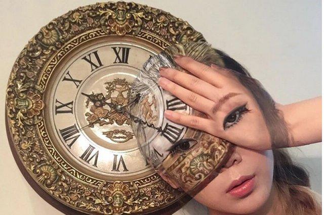 Koreańska wizażystka tworzy niesamowite iluzje optyczne ze swą własną twarzą