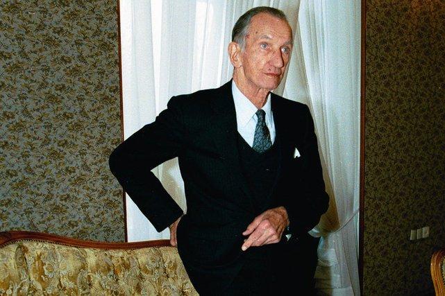 Jan Karski w 1995 roku.