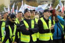 Policjanci nie zrezygnują łatwo ze strajku.